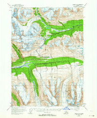 Topo map Valdez A-5 Alaska