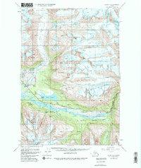 Topo map Valdez A-6 Alaska