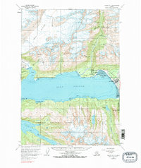 Topo map Valdez A-7 Alaska