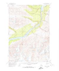Topo map Valdez B-2 Alaska