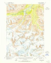 Topo map Valdez B-6 Alaska