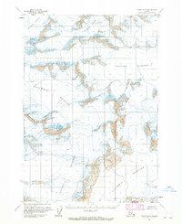 Topo map Valdez B-8 Alaska