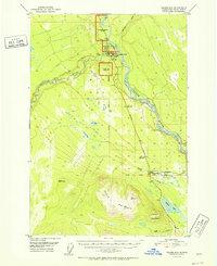 Topo map Valdez D-4 Alaska