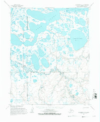 Topo map Wainwright A-5 Alaska