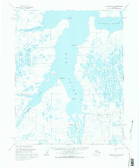 Topo map Wainwright B-2 Alaska