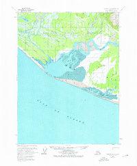 Topo map Yakutat A-2 Alaska