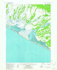 Topo map Yakutat B-4 Alaska