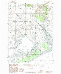 Topo map Yakutat D-6 Alaska