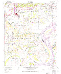 Download a high-resolution, GPS-compatible USGS topo map for Alma, AR (1971 edition)