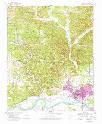 Download a high-resolution, GPS-compatible USGS topo map for Batesville, AR (1978 edition)