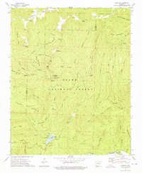 Download a high-resolution, GPS-compatible USGS topo map for Bidville, AR (1976 edition)