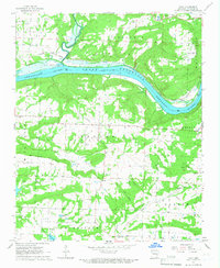 Download a high-resolution, GPS-compatible USGS topo map for Cecil, AR (1967 edition)