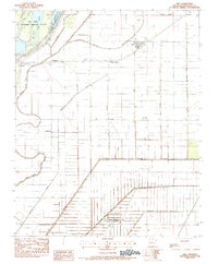 USGS 1:24000-scale Quadrangle for Dell, AR 1983 - Data gov