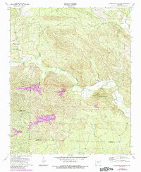 Download a high-resolution, GPS-compatible USGS topo map for Goosepond Mountain, AR (1984 edition)