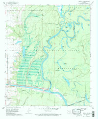 Download a high-resolution, GPS-compatible USGS topo map for Henrico SW, AR (1968 edition)