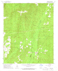 Download a high-resolution, GPS-compatible USGS topo map for Manning, AR (1966 edition)
