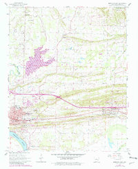 Download a high-resolution, GPS-compatible USGS topo map for Morrilton East, AR (1982 edition)