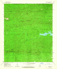 Download a high-resolution, GPS-compatible USGS topo map for Paron SW, AR (1964 edition)