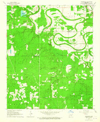 Download a high-resolution, GPS-compatible USGS topo map for Pinebergen, AR (1965 edition)