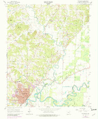 Download a high-resolution, GPS-compatible USGS topo map for Pocahontas, AR (1982 edition)