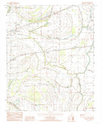 Download a high-resolution, GPS-compatible USGS topo map for Round Pond, AR (1985 edition)