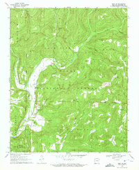 Download a high-resolution, GPS-compatible USGS topo map for Rudy NE, AR (1972 edition)