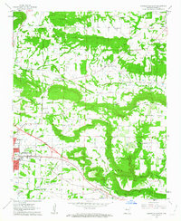 Download a high-resolution, GPS-compatible USGS topo map for Russellville East, AR (1963 edition)