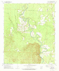 Download a high-resolution, GPS-compatible USGS topo map for Sparkman NW, AR (1973 edition)