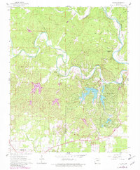 Download a high-resolution, GPS-compatible USGS topo map for Stuart, AR (1982 edition)