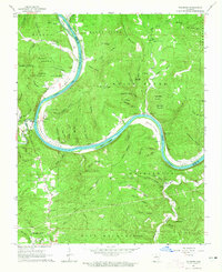 Download a high-resolution, GPS-compatible USGS topo map for Sylamore, AR (1965 edition)