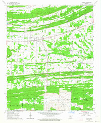 Download a high-resolution, GPS-compatible USGS topo map for Vilonia, AR (1964 edition)