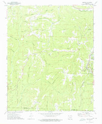 Download a high-resolution, GPS-compatible USGS topo map for Winslow, AR (1976 edition)