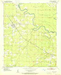 Download a high-resolution, GPS-compatible USGS topo map for Winthrop, AR (1951 edition)