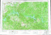 USGS 1:250000-scale Quadrangle for Harrison, AR 1958 - Data.gov