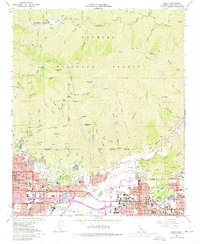 Azusa Map on