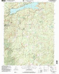 Usgs 1 24000 Scale Quadrangle For Huntington Lake Ca 2004 Data Gov