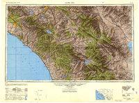 USGS 1:250000-scale Quadrangle for Santa Ana, CA 1947 ... on las vegas ca map, la purisima mission ca map, palo alto ca map, downey ca map, palm desert ca map, newport harbor ca map, puente hills ca map, n hollywood ca map, hacienda ca map, chicago ca map, seal beach ca map, fort worth ca map, ridgecrest ca map, san ysidro ca map, solano beach ca map, fresno ca map, fountain valley ca map, san bernardino ca map, anaheim ca map, baldwin lake ca map,