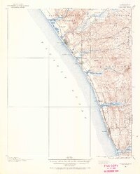 USGS 1:62500-scale Quadrangle for Oceanside, CA 1898 - Data.gov on ocean beach ca, ocean side or, the ocean house in oceanside ca,