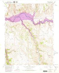 USGS 1:24000-scale Quadrangle for Carpenter Ridge, CO 1954