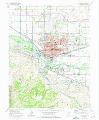 USGS 1:24000-scale Quadrangle for Grand Junction, CO 1962 ...