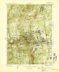 USGS 1:31680-scale Quadrangle for Bristol, CT 1946 - Data.gov