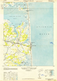 Download a high-resolution, GPS-compatible USGS topo map for Bethany Beach, DE (1949 edition)