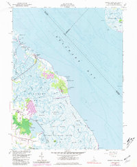 Download a high-resolution, GPS-compatible USGS topo map for Bombay Hook, DE (1981 edition)