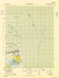 Download a high-resolution, GPS-compatible USGS topo map for Cape Henlopen, DE (1944 edition)