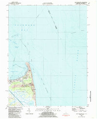 Download a high-resolution, GPS-compatible USGS topo map for Cape Henlopen, DE (1985 edition)
