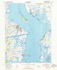 Download a high-resolution, GPS-compatible USGS topo map for Delaware City, DE (1971 edition)