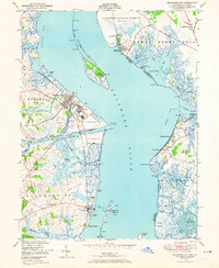 Download a high-resolution, GPS-compatible USGS topo map for Delaware City, DE (1965 edition)