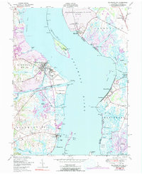 Download a high-resolution, GPS-compatible USGS topo map for Delaware City, DE (1991 edition)