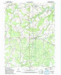 Download a high-resolution, GPS-compatible USGS topo map for Ellendale, DE (1992 edition)