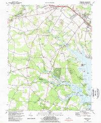 Download a high-resolution, GPS-compatible USGS topo map for Fairmount, DE (1984 edition)